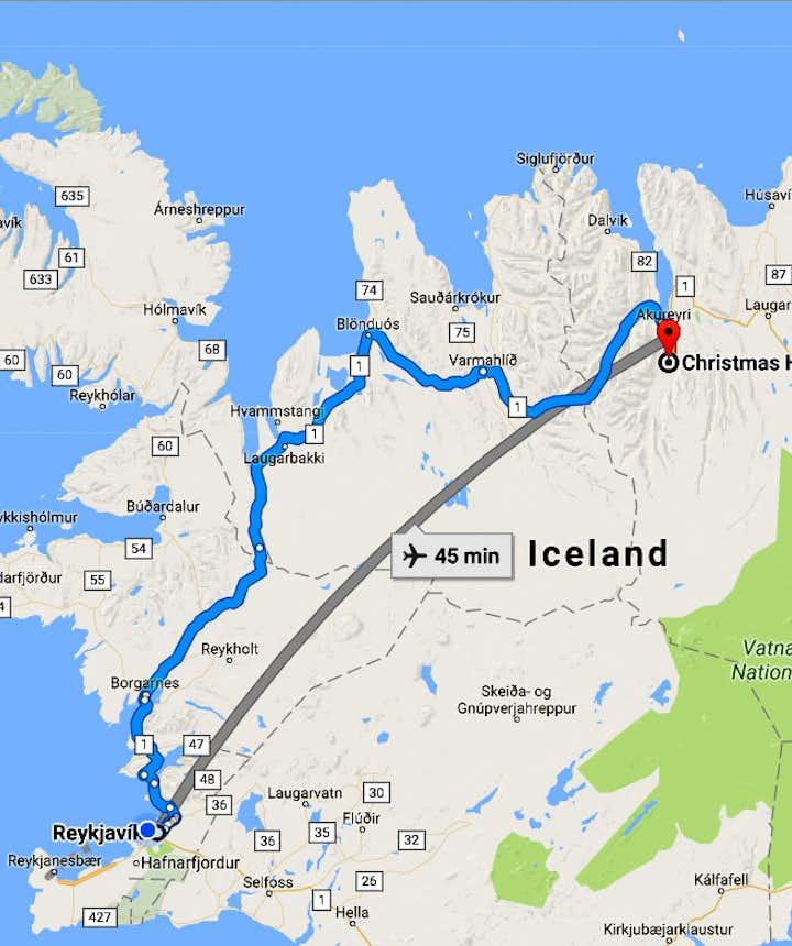 Eyjafjörður Fjord - the Christmas House - Jólahúsið - is open all Year round