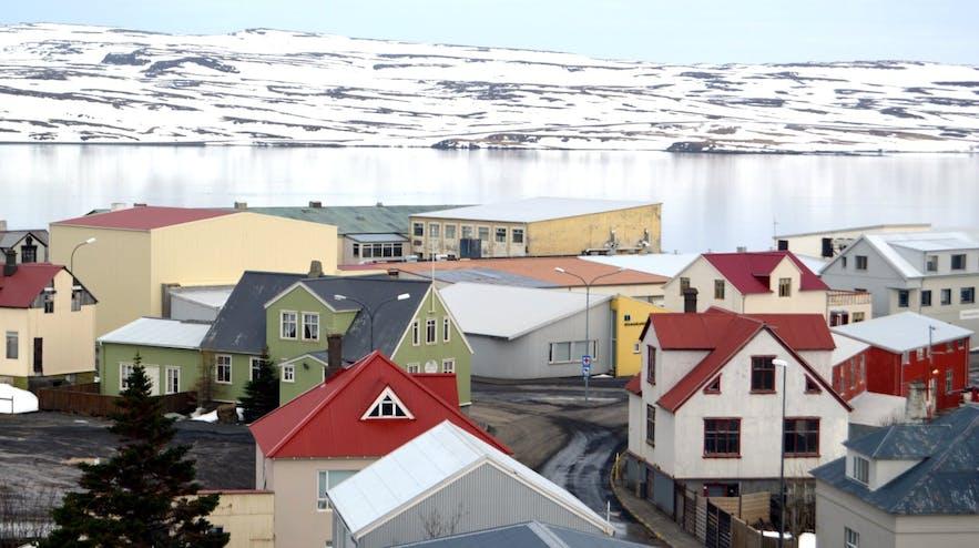The charming, quintessentially Icelandic village of Hólmavík
