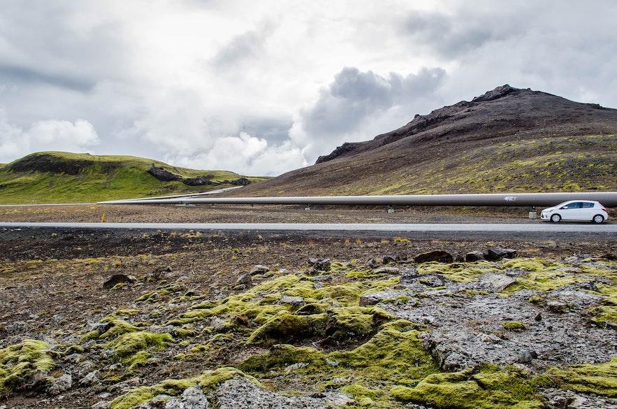 Le sud de l'Islande - De Reykjavik à Þingvellir par les routes 435 & 360