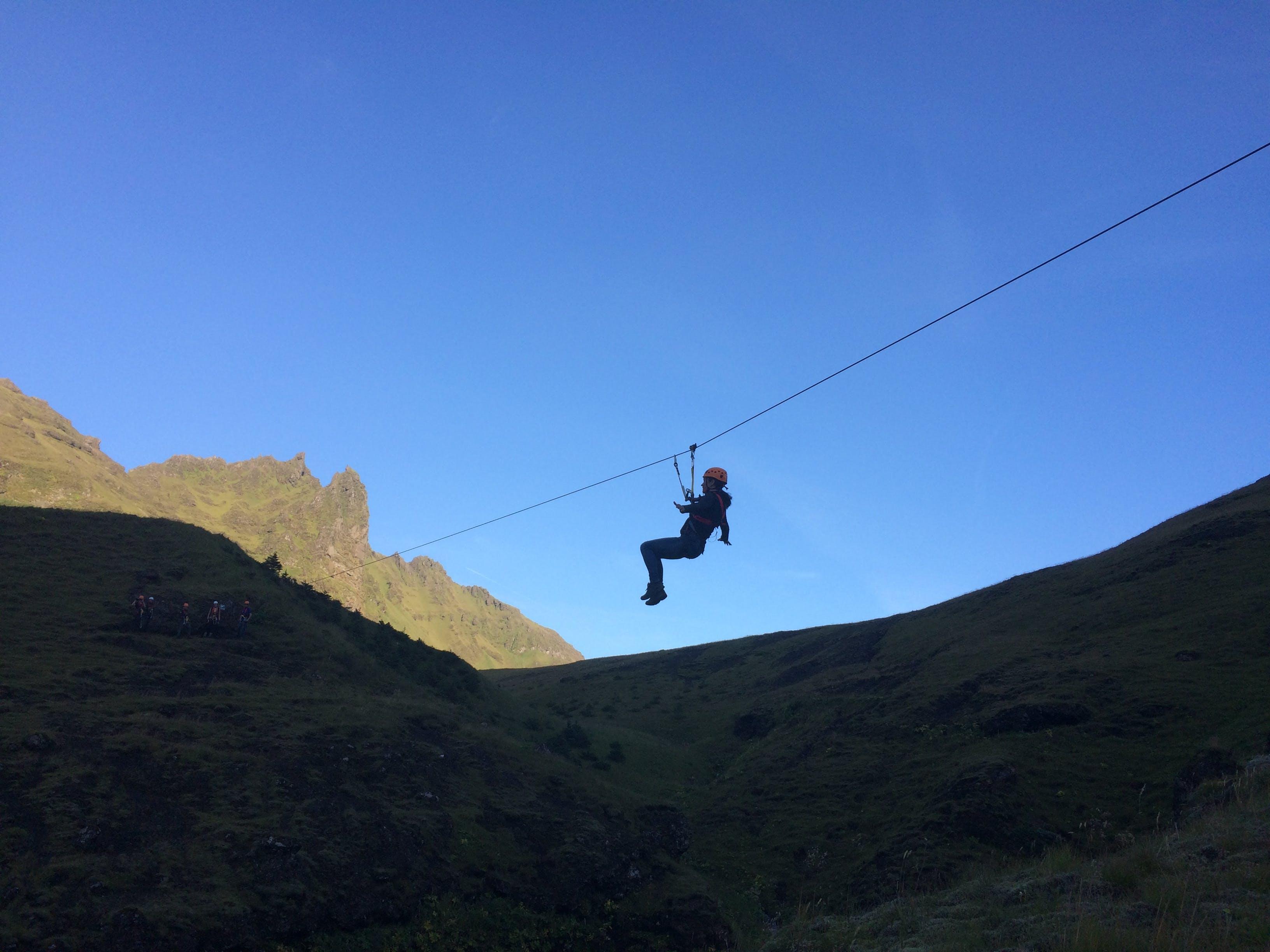 Zipline Adventure in South Iceland from Reykjavik