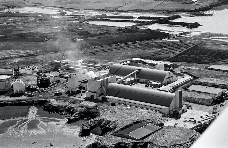 Gufunes Fertilizer Factory - Picture from July, 1981