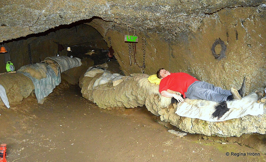 The Cave of the Yule Lads at Dimmuborgir