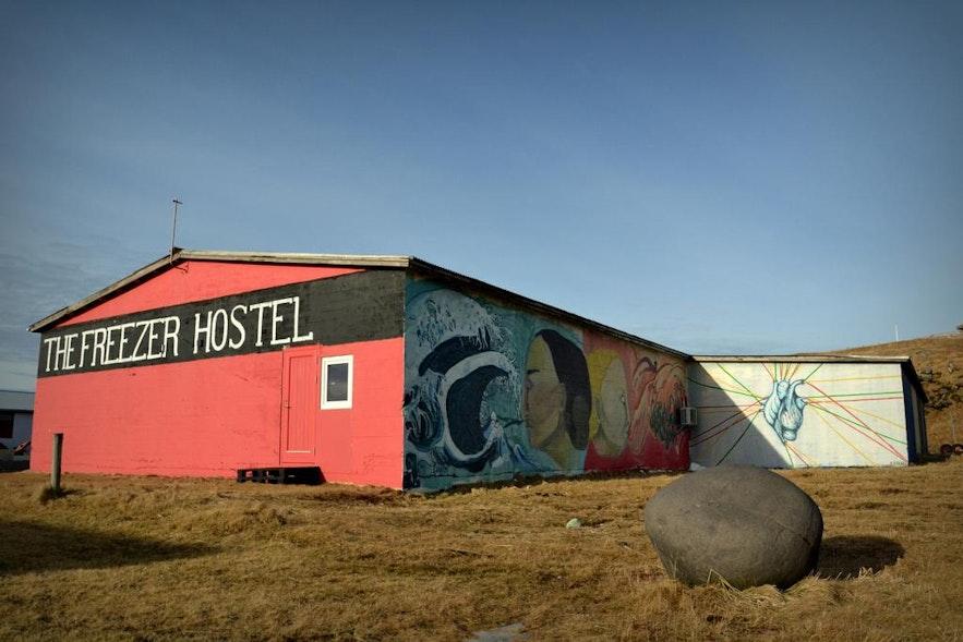 Hostel Freezer na półwyspie Snæfellsnes na Islandii.