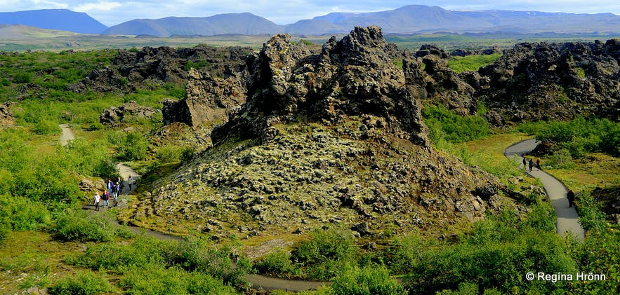 Dimmuborgir in the Mývatn area