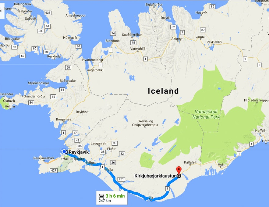 The Historical Kirkjubæjarklaustur, Systrafoss & Systrastapi in South-Iceland