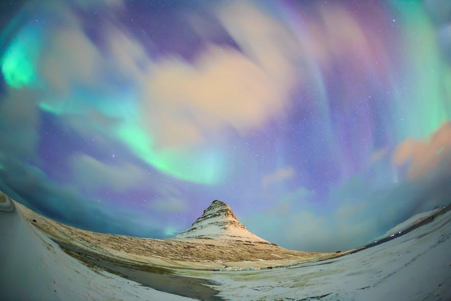 冰島西部斯奈山半島教會山