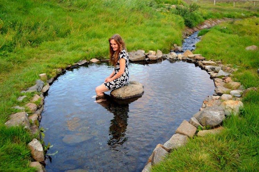 Gorące źródła na islandzkich Fiordach Zachodnich