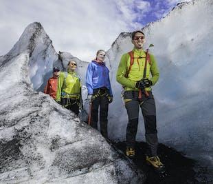 Escursione sul ghiacciaio Solheimajokull
