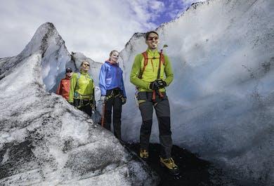 Aventura de senderismo en el glaciar Solheimajokull