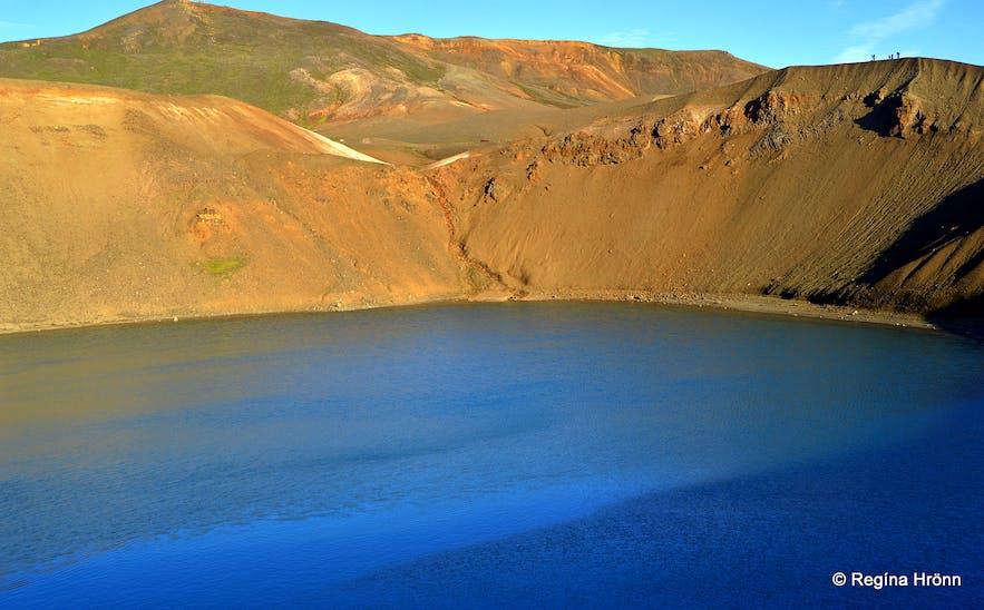 Stóra-Víti explosion crater at Krafla NE-Iceland