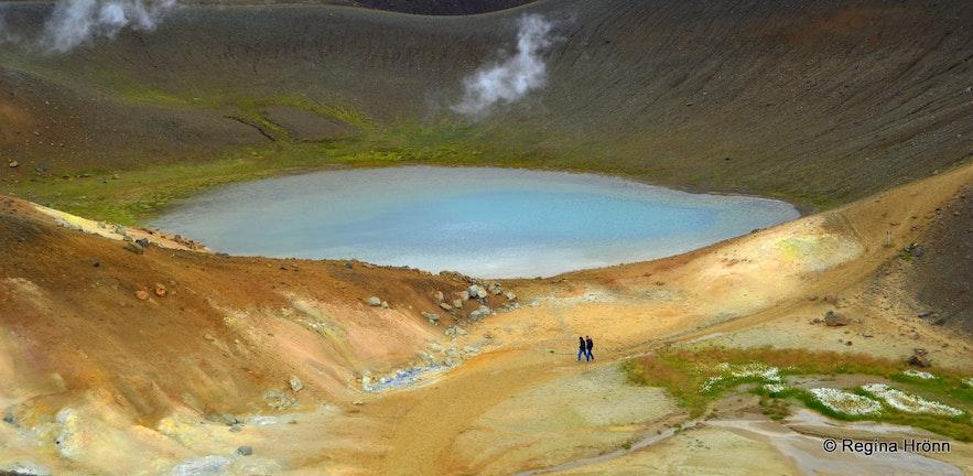 Geothermal area by Krafla
