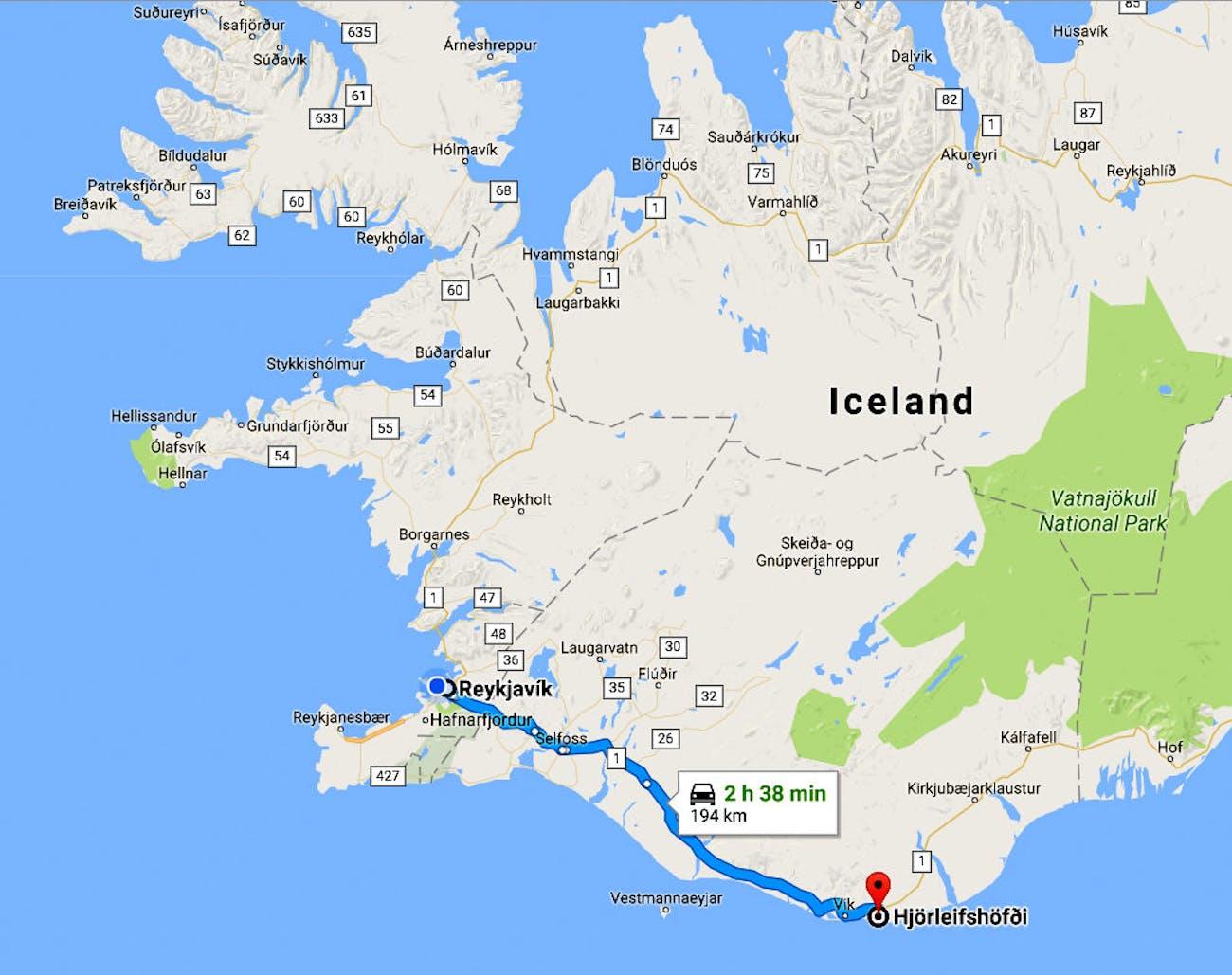 Hjörleifshöfði in South-Iceland - Part II - the Hike, the