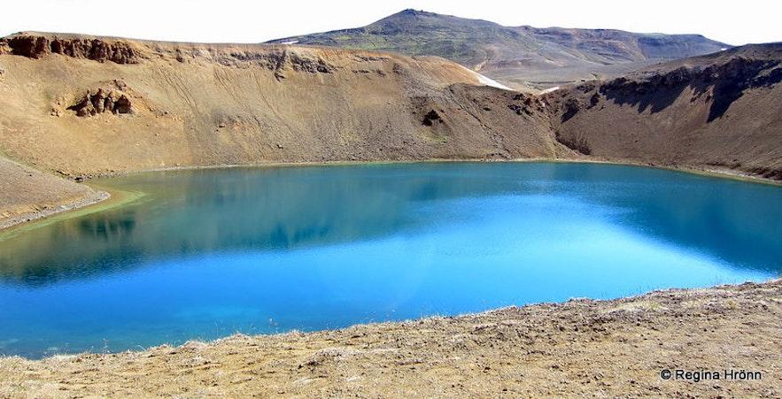 Stóra-Víti crater in northeast Iceland