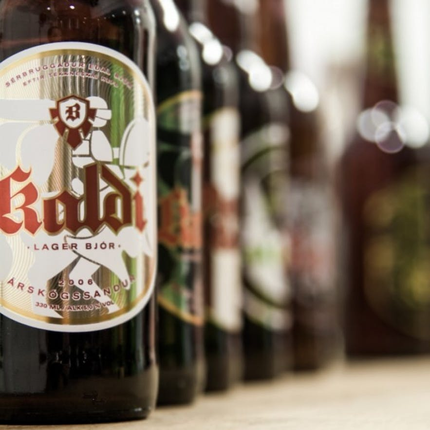 Blonde is just one of many Kaldi beers