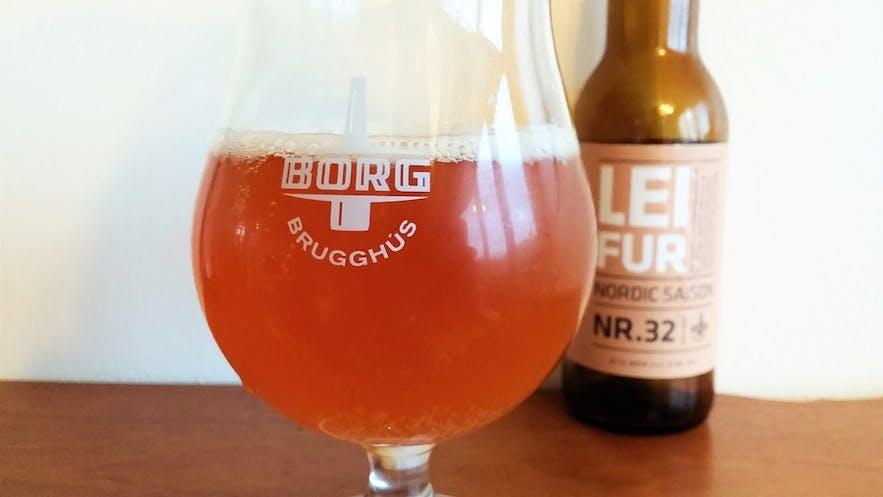 Leifur Nr. 32's taste is as vibrant as its colour