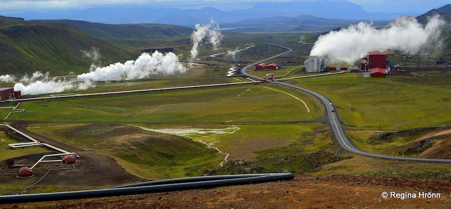 Mývatn in North-Iceland - Part IV - Mt. Námafjall, Krafla & Leirhnjúkur Geothermal Areas