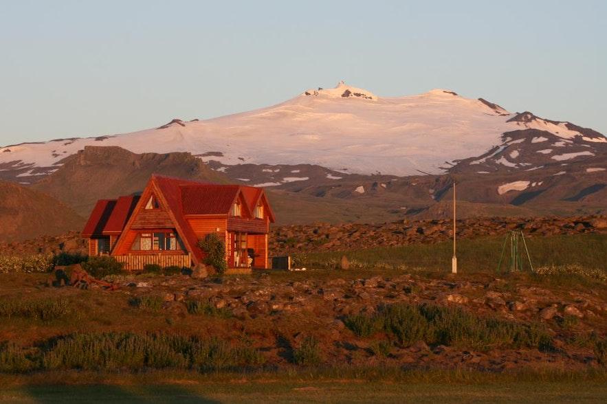 스나이펠스네스 반도에서 렌트 가능한 아이슬란드 현지인의 여름 별장