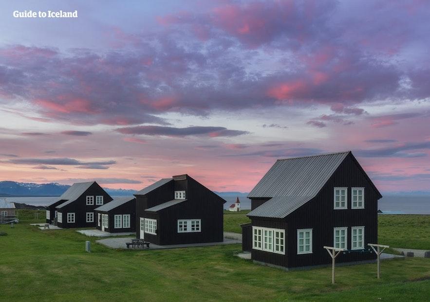 Cottages de luxe sur la péninsule de Snaefellsnes