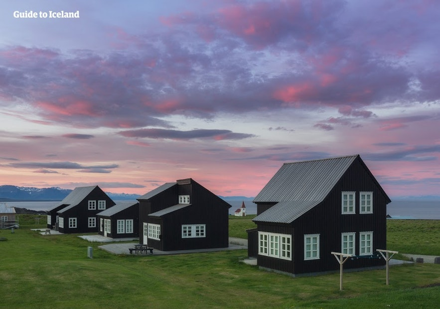 Luxury cottages on Snæfellsnes peninsula