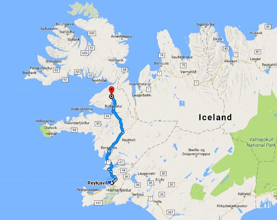 Guðrúnarlaug Hot-tub - the Saga Hot-tub in Sælingsdalur Valley in West-Iceland