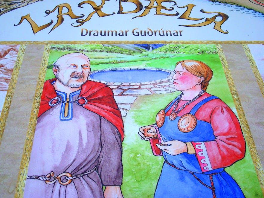 Laxdæla, Draumar Guðrúnar