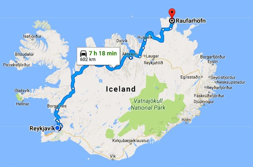 Raufarhöfn - the Arctic Circle Village in NE-Iceland - and Heimskautsgerðið - the Mystical Arctic Henge
