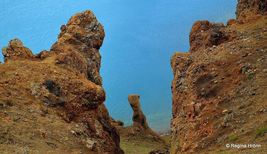 Stóra-Víti crater at Krafla