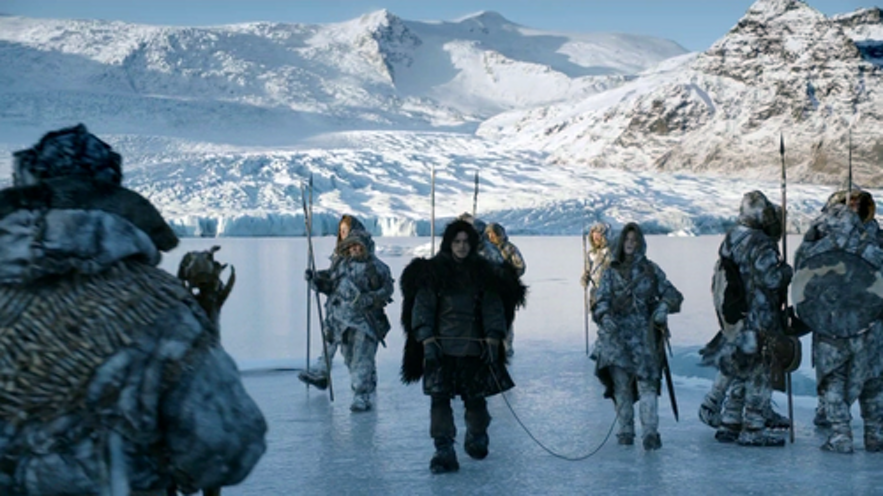 Games of thrones north of the wall