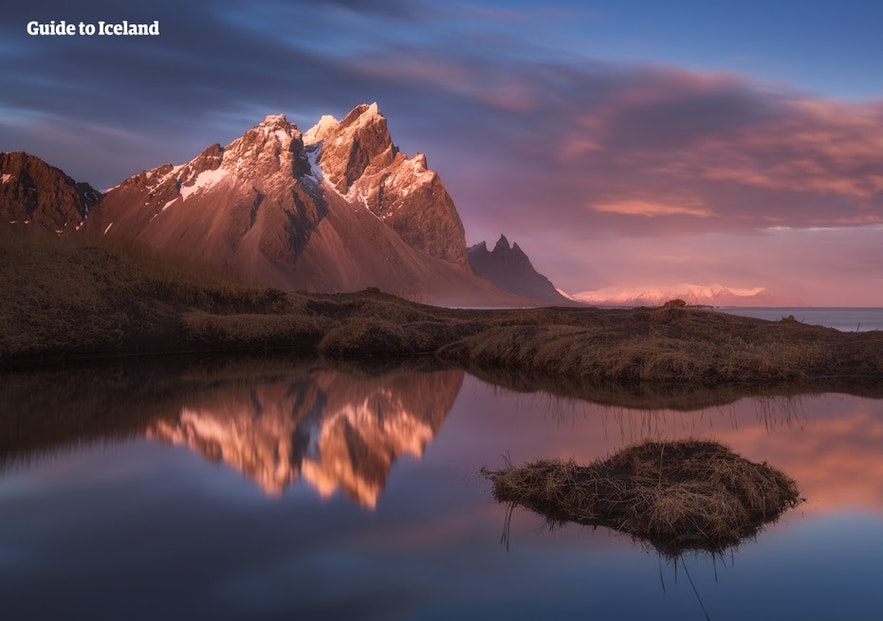 Vestrahorn mountain in East Iceland