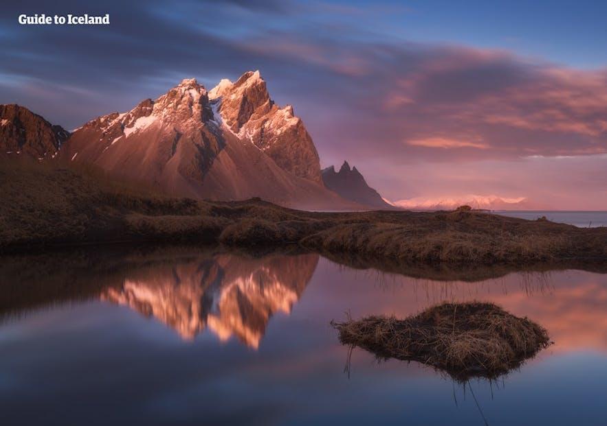 冰岛的蝙蝠侠山是很多摄影师的最爱