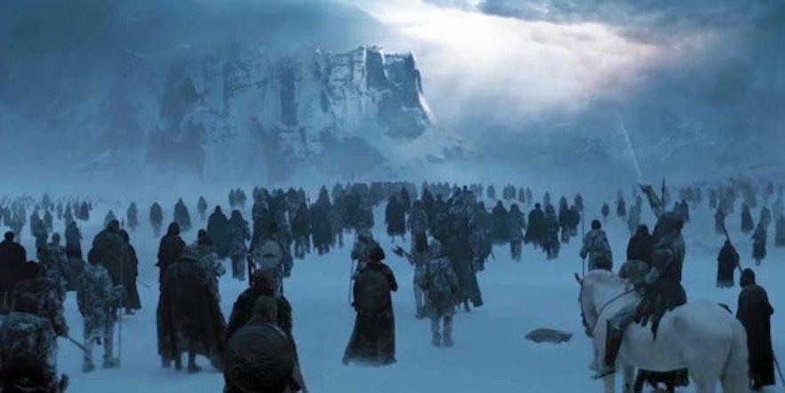 冰島北部Hverfjall 權力遊戲拍攝地