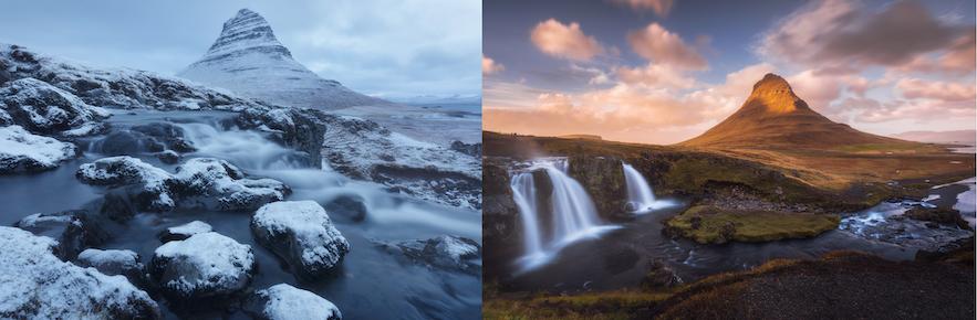 冰島Arrowhead mountain 實景
