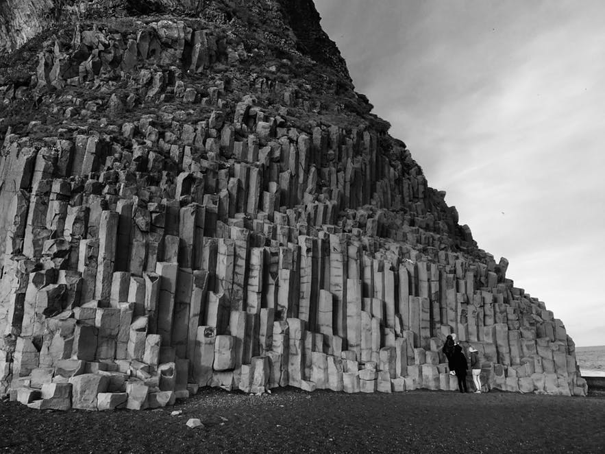 冰島黑沙灘Reynisfjara
