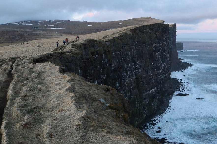 Jitter-glitter Guiding in the Westfjords of Iceland