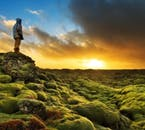 You will see fields and fields of fragile Icelandic moss; make sure not to step on it, as the moss takes years to repair.