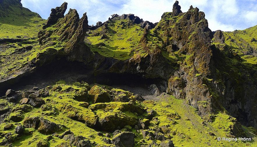 Remundargil canyon South-Iceland