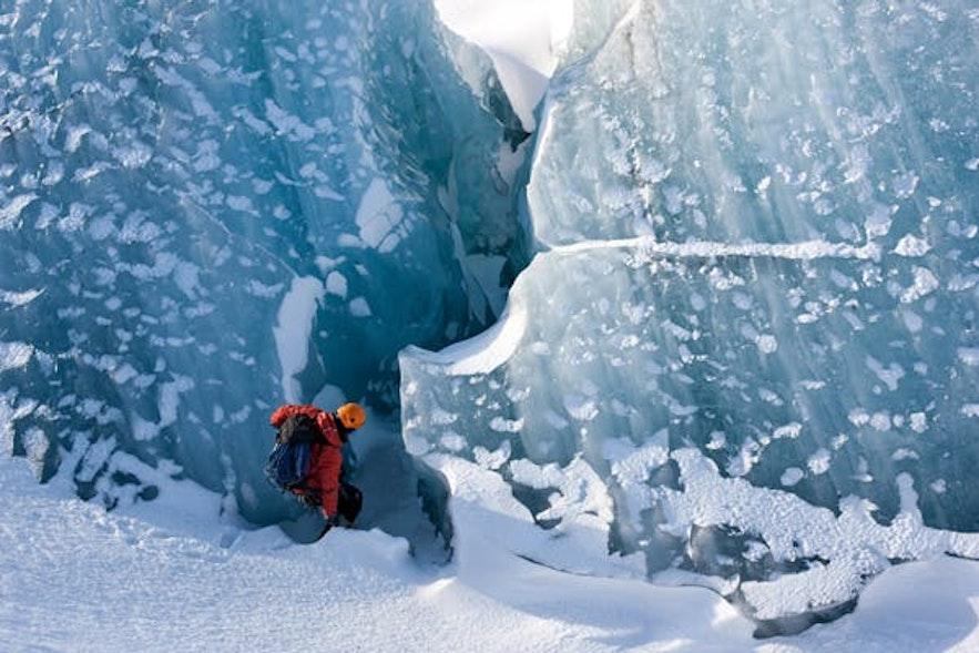 冰島斯卡夫塔山冰川健行