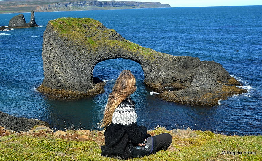 The Beautiful Rauðanes Cape in North-East Iceland - Extraordinary Rock Formations