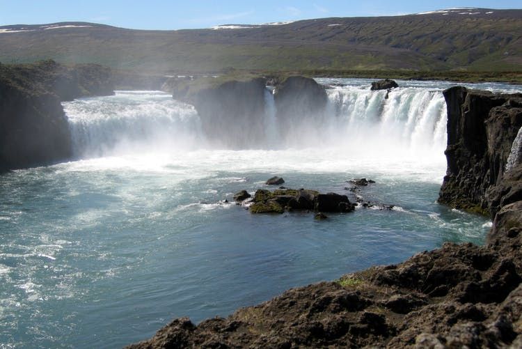 Goðafoss holds an important place in Iceland's religious history.
