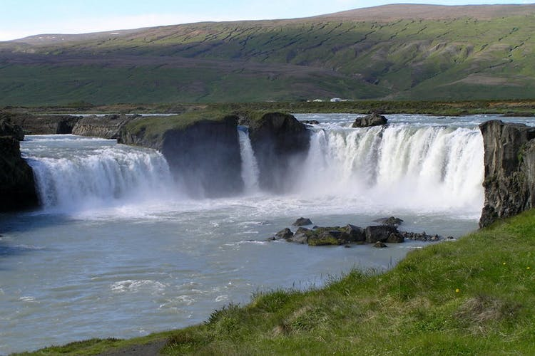 Goðafoss, 'the Waterfall of the Gods', is not only beautiful, but holds an incredibly important place in Icelandic history.