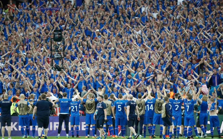 冰島2016歐洲杯現場