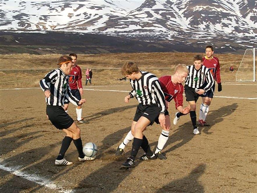 冰島足球歷史照片