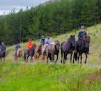 Tuta e casco sono forniti per il tuo tour a cavallo.