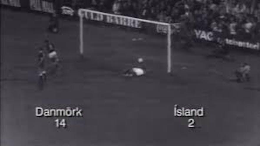 冰島大比分落敗丹麥