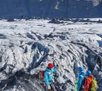 It can't get any more adventurous than hiking up one of Iceland's mighty glaciers.