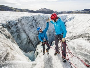 Glacier Hiking & Ice Climbing | Only 4 Persons per Tour
