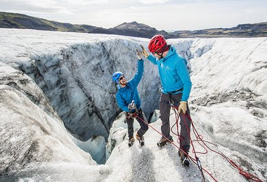 Glacier Hiking & Ice Climbing   Only 4 Persons per Tour