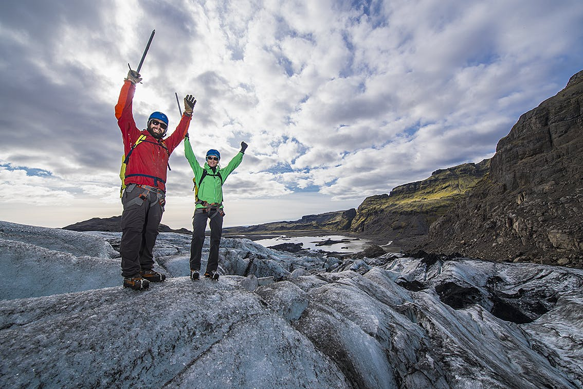 Glacier Hiking tour from Reykjavik   Six people Maximum   Easy Difficulty