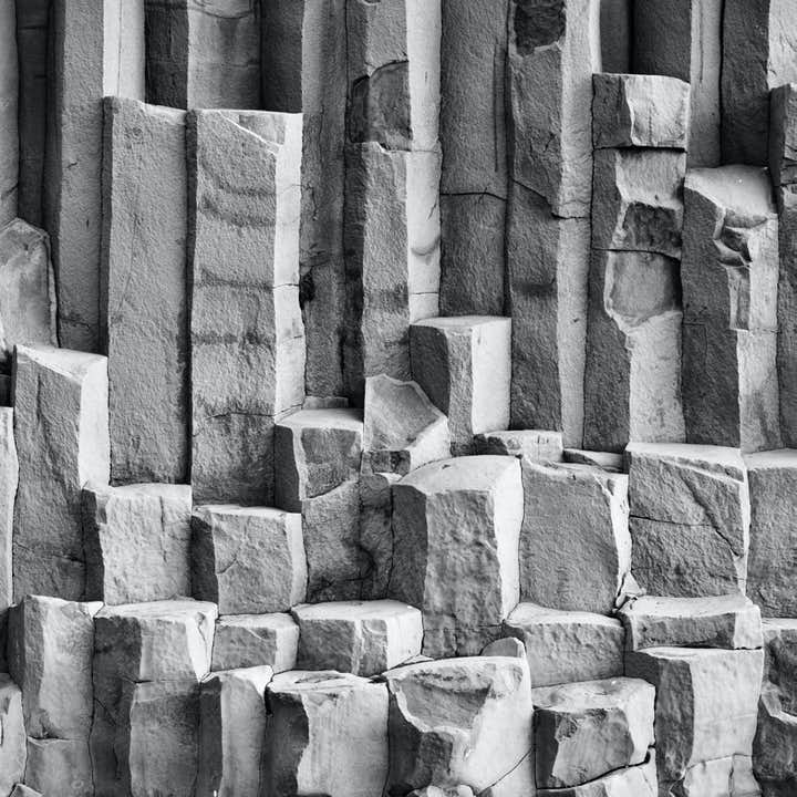 Hexagonal basalt columns are so perfectly formed its a wonder that they are natural.