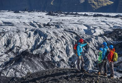 Two-Day South Coast Adventure | Sightseeing and Glacier Hiking